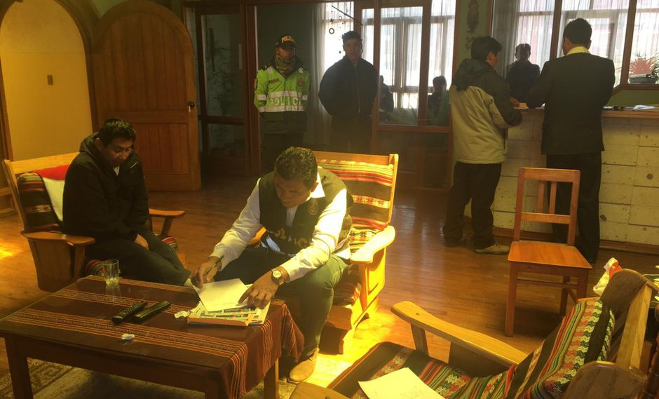 Detienen a párroco investigado por lavado de activos en Puno