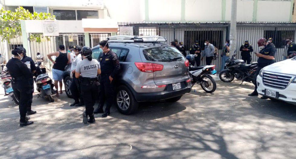 Piura: Jefe de la Región Policial Piura, coronel PNP Edward Espinoza, informó que hay más de 100 efectivos contagiados de COVID-19 y unos 500 en aislamiento.