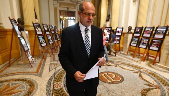 Congresista Daniel Abugattás también reitera que hay politización en el Ministerio Público. (Rafael Cornejo)