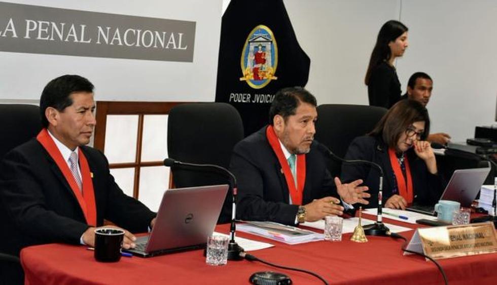 La recusación es contra la sala es presidida por Octavio Sahuanay e integrada por Iván Quispe y María León. (Foto: Poder Judicial)