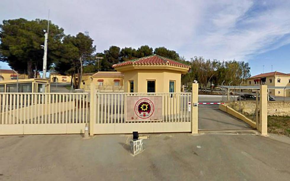 El Acuartelamiento Aéreo de Bobadilla se ubica en la provincia de Málaga (España). (GETTY)