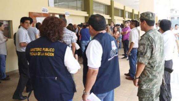 Cajamarca Con el fin de colaborar en el normal desarrollo de la jornada electoral, 173 fiscales del Distrito Fiscal de Cajamarca se movilizan hoy en esta región (Foto: Ministerio Público)