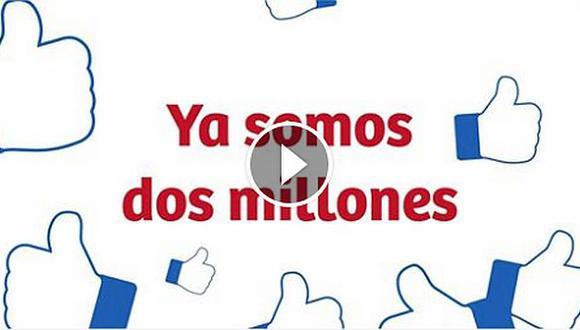 Facebook de la Marca Perú superó los dos millones de seguidores. (Captura)
