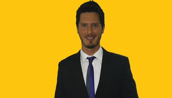 El actor Cristian Rivero. (USI)