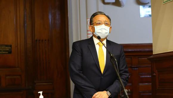 Por 60 votos se aprobó la suspensión de Edgar Alarcón en sus funciones y deberes como congresista. (Foto: Congreso de la República)
