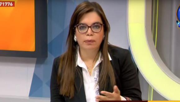 """Milagros Leiva discute en vivo con el director del SAMU: """"Lo que me dice es un cuento de vaqueros"""". (ATV/Captura)"""