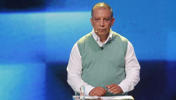 El candidato Marco Arana del Frente Amplio dio positivo a COVID-19 y no votará este domingo (GEC).