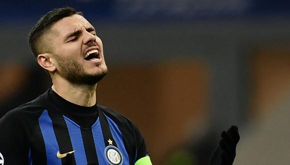Diferencias económicas evitarían la renovación de Mauro Icardi con Inter de Milán (Foto: AFP).