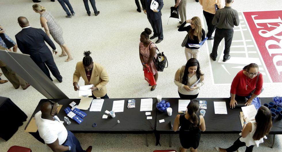 La tasa de desempleo es menor a la de un año atrás (4.3%). (AP)