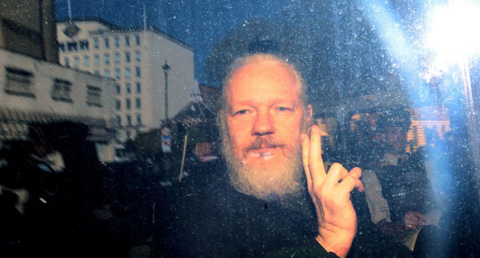 Julian Assange, fundador de WikiLeaks, fue detenido este jueves en Londres. (Getty)