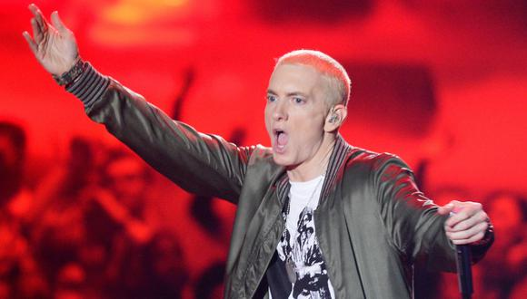 "Eminem presentó su polémico álbum ""Music to be Murdered By"". (Foto: AFP)"