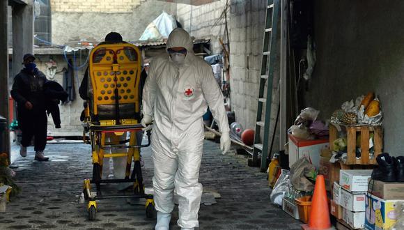 México contabilizó 530 muertes nuevas, por un total de 149.614 desde que inició la pandemia de la COVID-19 la última semana de febrero del año pasado. (Foto: ALFREDO ESTRELLA / AFP)