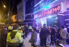 Huánuco: hallan a 150 jóvenes en discoteca que funcionaba en plena pandemia