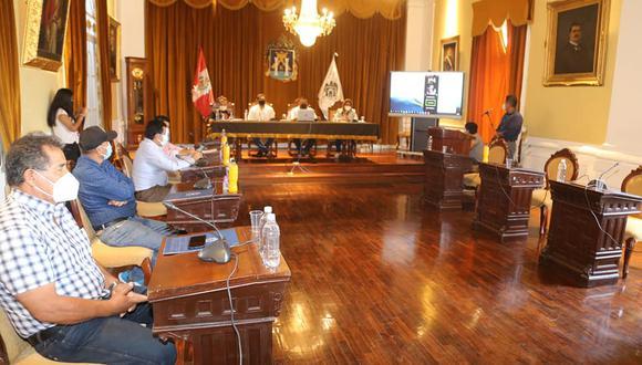 El alcalde distrital de La Esperanza (Trujillo), Martín Namay, afirmó que hasta la fecha no cuentan con transferencias del Gobierno Central para atender la pandemia (MPT)