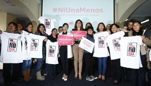 NI UNA MENOS. (Piko Tamashiro/Perú21)
