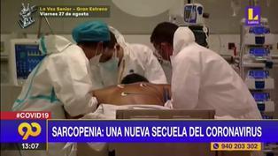 Sarcopenia, nueva secuela del coronavirus que afecta a los adultos mayores