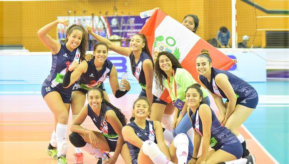 La selección peruana sub 18 de voleibol femenino va por la hazaña de tumbarse al campeón vigente. (Foto: FIVB)