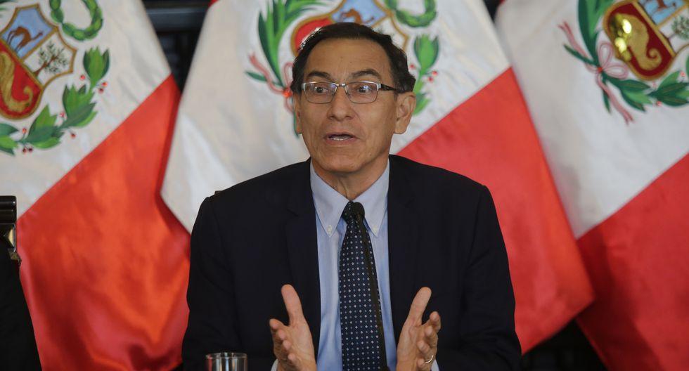 Martín Vizcarra invocó a concluir los proyectos que aún están en ejecución. (FOTO: USI)