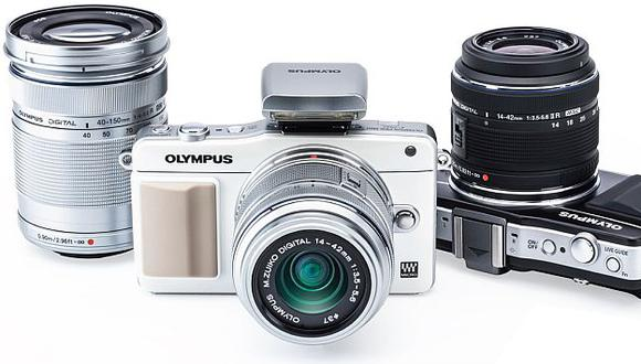 La Olympus PEN-E-PM2 capta fotografías de hasta 16 Mp y graba video en Full HD. (Difusión)