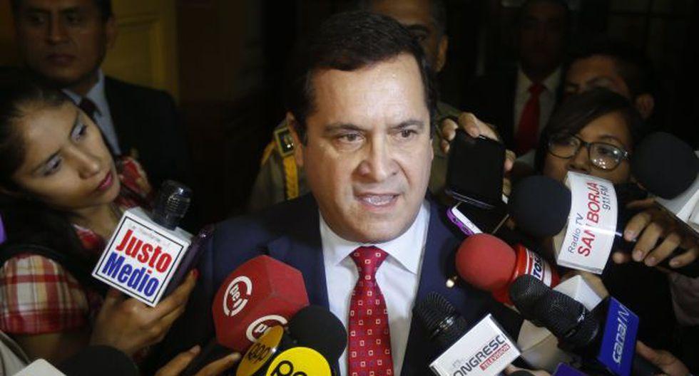 Luis Iberico: Pena por el delito de difamación se mantiene en 3 años. (Renzo Salazar)
