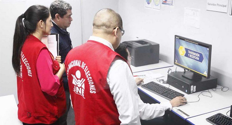 JNE verificará buen funcionamiento del software a emplear el domingo 7 de octubre. (Foto: Agencia Andina)
