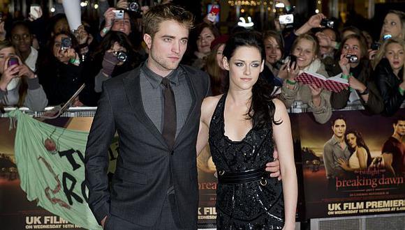 Robert Pattinson fue superado en el ranking por su pareja. (AP)