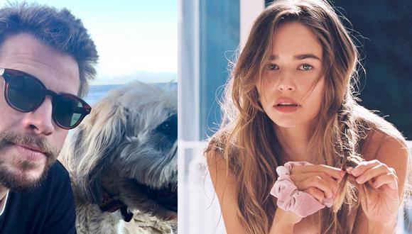 Liam Hemsworth y Gabriella Brooks se dejan ver juntos en la playa (Foto: Instagram)