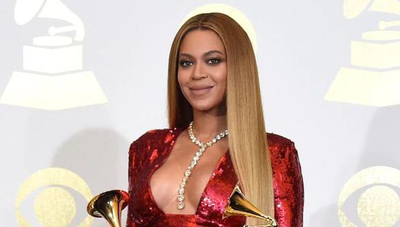 Cantante Beyoncé. (Foto: Agencia)