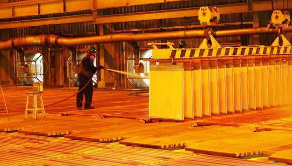 Ministerio de Energía y Minas recortó estimado de producción de cobre. (Difusión)