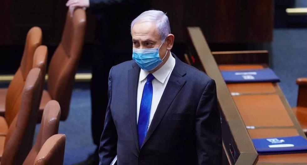 Israel: Netanyahu asume su quinto mandato como primer ministro acusado de corrupción. (EFE/EPA/ADINA VALMAN)