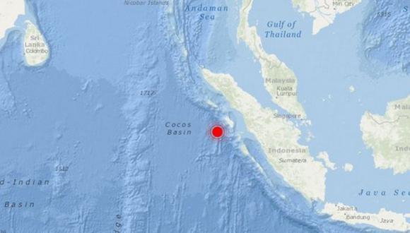 Un terremoto de 6 grados de magnitud  sacudió indonesia. (Foto: Twitter)