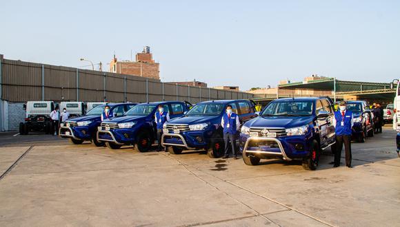 Reniec. La nueva flota de unidades vehiculares estará destinada a realizar campañas de identificación y documentación de personas en estado vulnerable y extrema pobreza de las zonas más alejadas del país.
