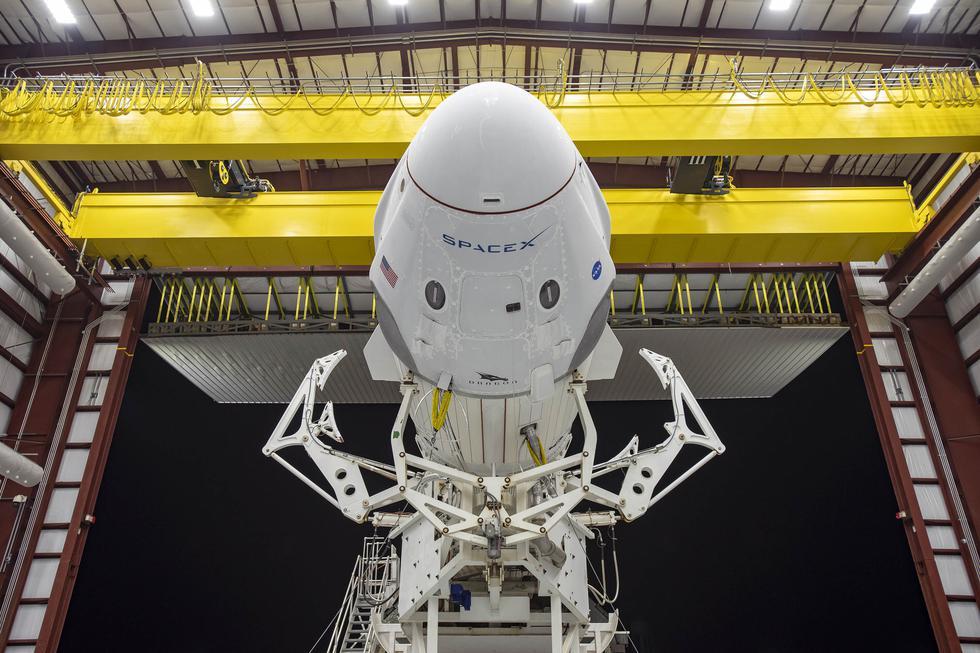 Perú21 te cuenta los detalles EN VIVO del primer lanzamiento del vuelo tripulado SpaceX desde la NASA. (AFP)