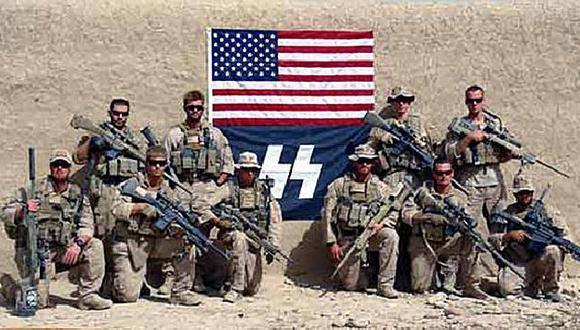 Foto tomada en Afganistán ya fue retirada del blog. (Internet)