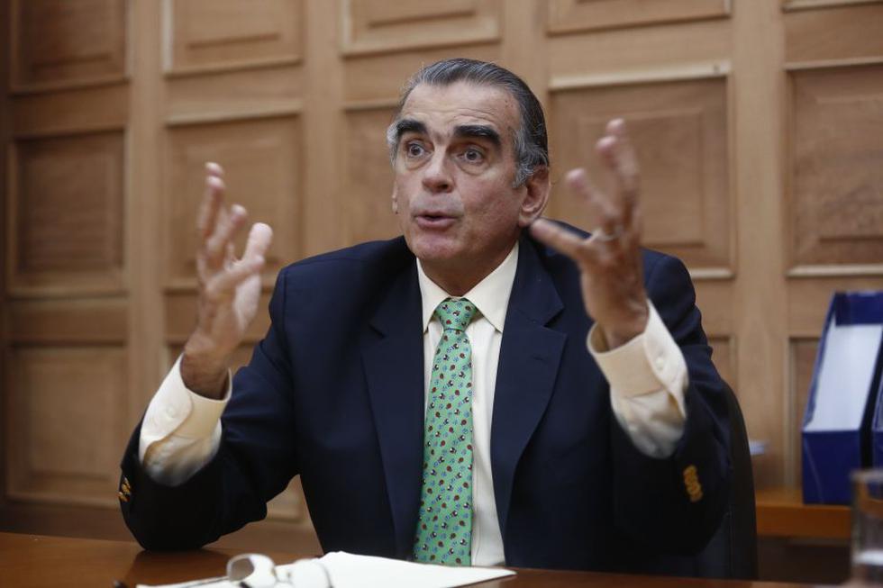 Pedro Olaechea dijo que el Congreso dio el primer paso para buscar la concordia. (Perú21)