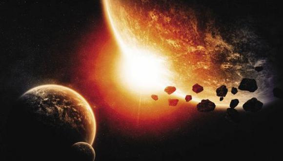 LA CLAVE. A través de la energía solar se destruyen asteroides. (Difusión)