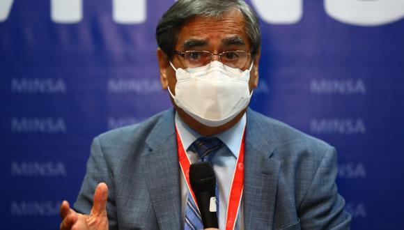 El ministro de Salud, Óscar Ugarte, participará este jueves en una conferencia de prensa. (Foto: Archivo de GEC)