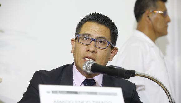 El procurador anticorrupción Amado Enco espera que la extradición de César Hinostroza proceda en aproximadamente un año. (FOTO:USI)