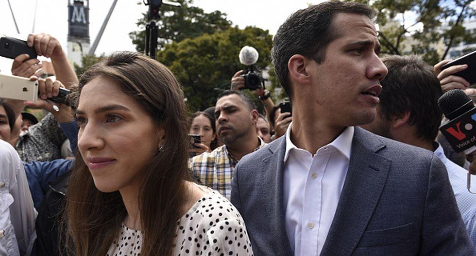 Guaidó habló después de que Washington impuso el lunes duras sanciones contra la compañía petrolera estatal PDVSA. (Getty)
