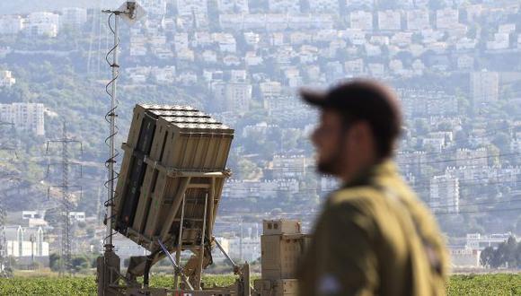 Israel alista su Cúpula de Acero y sus reservistas. (AP)
