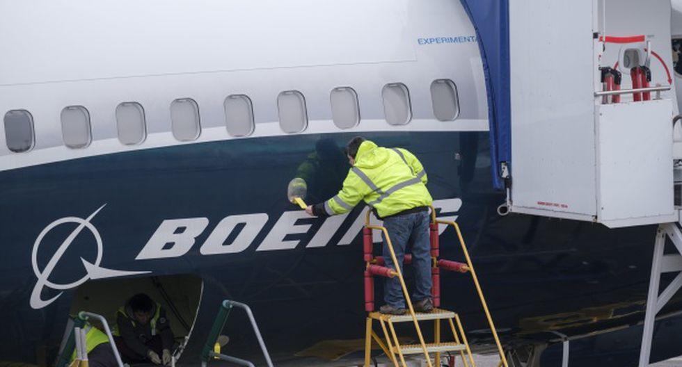 Un 737 MAX 8 de Ethiopian Airlines se estrelló el 10 de marzo al sureste de Adís Abeba, matando a 157 personas; mientras que un Lion Air 737 MAX 8 cayó en el mar de Java a fines de octubre, dejando 189 muertos. (Foto: AFP)