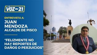 """Juan Mendoza sobre sismo: """"Felizmente no hay reportes de daños o perjuicios"""""""