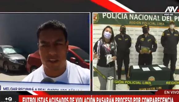 Omar Tejeda fue detenido por la Policía en un departamento de Miraflores tras ser acusado de intento de violación secual contra una joven. (ATV+)
