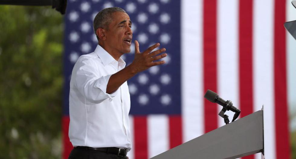 Imagen del expresidente de Estados Unidos, Barack Obama. (Joe Raedle/Getty Images/AFP).