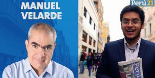 Manuel Velarde, candidato a la Alcaldía de Lima de Siempre Unidos