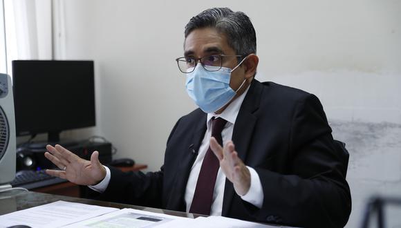 ojo . Pérez pide que se mida a todos los fiscales con la misma vara. (Foto: Hugo Pérez)