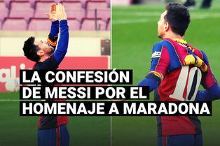 Maxi Rodríguez contó qué dijo Lionel Messi tras el homenaje al 'Pelusa' con su gol