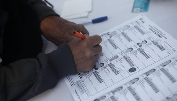La ONPE hace una diferencia entre actas procesadas y contabilizadas. (FOTOS: Jorge Cerdan/@photo.gec)