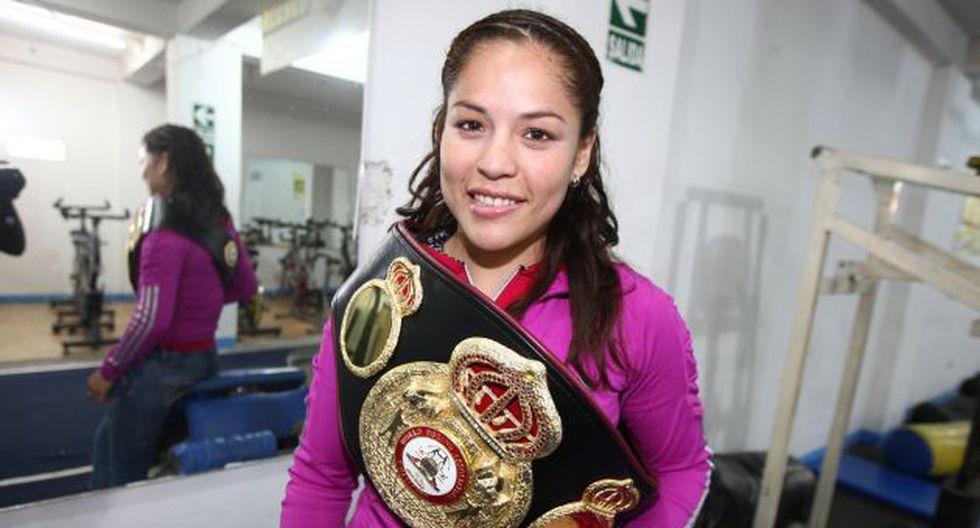 Linda Lecca, la boxadora peruana que dejó en alto el nombre de nuestro país. (USI)