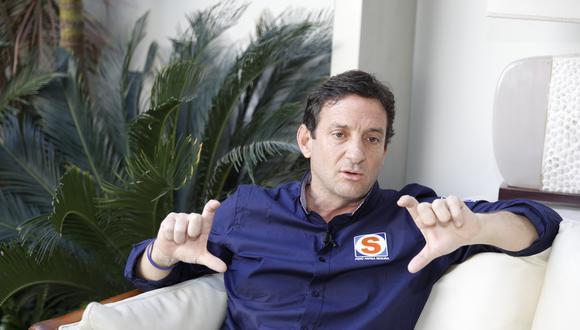 Renzo Reggiardo cuestionó a su contendor, Jorge Muñoz, por una denuncia abierta. (FOTO: USI)